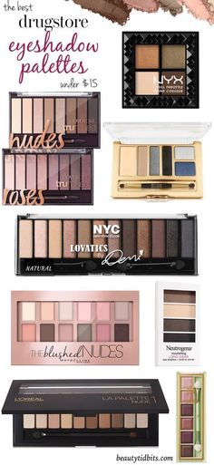 Looking for the best drugstore eyeshadow palette? Here are 8 top-notch drugstore palettes that give you the best bang for your buck!