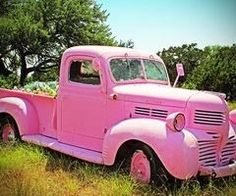 My honey bunch painted the old truck Pink, just for me. I found some old photos in the glovebox........