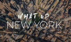 VIDEO What Up New York: A New York City #Timelapse Adventure di Stéphane Legrand  #USA