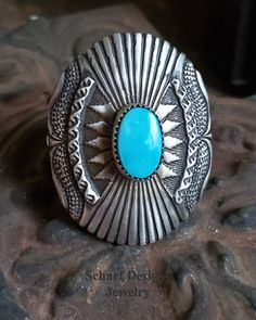 Native American Turquoise Large Ring at Schaef Designs Jewelry online Arizona, Big Rings, Southwestern Jewelry, Jewelry Packaging, Native American Jewelry, Turquoise Jewelry, Jewelry Design, Sterling Silver, Ethnic Fashion
