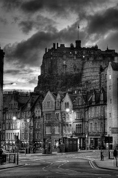 Edinburgh Castle (Castle Rock), Edinburgh, Scotland.