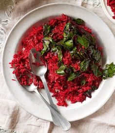 Spiced beetroot rice