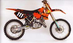 Grant Langstron KTM factory 125 cc.