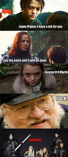 Watch out George