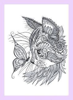 Tattoo - Best Geometric Tattoo - Cat doodle - coloring pages nice Geometric Tattoo - Best Geometric Tattoo - Cat doodle - coloring pages.nice Geometric Tattoo - Best Geometric Tattoo - Cat doodle - coloring pages. Doodle Coloring, Colouring Pages, Adult Coloring Pages, Free Coloring, Cat Embroidery, Embroidery Dress, Geometric Tatto, Tattoo Abstract, Geometric Mandala