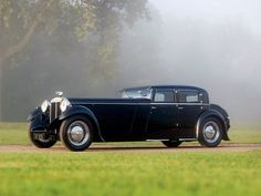 Vintage Cars 1932 Daimler Double Six Martin Walter Sports Saloon. Retro Cars, Vintage Cars, Antique Cars, 2015 Mustang, Mustang Cars, Sexy Cars, Hot Cars, Dream Cars, Bugatti Royale