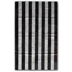 Natural Stripe Black White [cowhide], by Natural