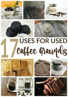 17 Uses for Used Coffee Grounds Simplistically Living http://legendofstyle.com/