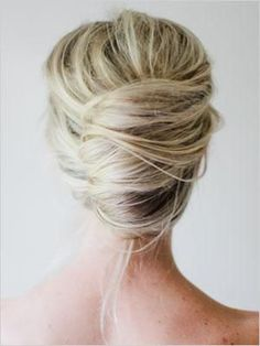 messy french twist chignon up do hairstyles updos wedding hairstyle