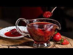 Γλυκό του κουταλιού Φράουλα - πανεύκολο - YouTube Moscow Mule Mugs, Gravy, Tea Cups, Tableware, Kitchen, Desserts, Recipes, Youtube, Kitchens