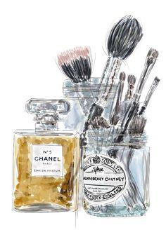 Chanel e pinceis                                                                                                                                                      Mais