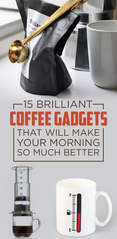 15 Brilliant Coffee Gadgets You'll Wish You Knew About Sooner