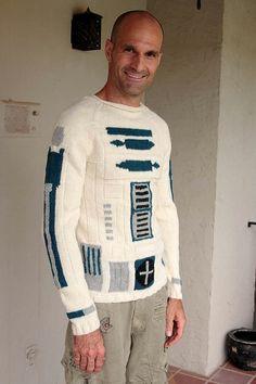 Custom R2D2 Sweater