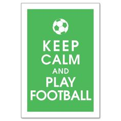The real football