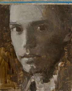 Dorian Gray Series - Elena Zolotnitsky oil and gold leaf on mylar Dorian Gray, Gold Leaf, Portraits, Paintings, Oil, Inspiration, Art, Biblical Inspiration, Painting Art
