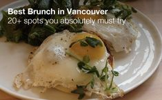 Best Brunch in Vancouver | To Die For Vancouver Travel, Good Bakery, Canada Shopping, Places To Eat, British Columbia, Brunch, Food And Drink, Restaurant, Bakeries