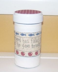 Bible Verse Larger QUILTED PILL BOTTLE by ClassyQuiltedBottles, $3.50 Pill Bottles, Church Ideas, Repurposing, Empty, Bible Verses, Upcycle, Larger, Plastic, Unique Jewelry