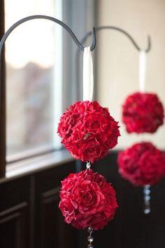 Inspiration rojo de la boda.