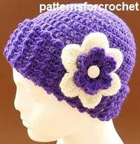 Free crochet patterns hats & scarves
