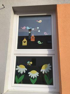 Diy For Kids, Crafts For Kids, Fun Crafts, Diy And Crafts, School Decorations, Toddler Crafts, Spring Flowers, Jar, Easter