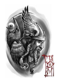 Nordic theme by Tomyslav on DeviantArt Nordisches Thema von Tomyslav auf DeviantArt Norse Tattoo, Celtic Tattoos, Armor Tattoo, Viking Symbols, Viking Art, Tattoo Sketches, Tattoo Drawings, Tattoo Ink, Tattoo Studio