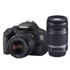 New!                          Canon Rebel T3i 18MP DSLR Camera Kit and Canon 55-250mm Lens
