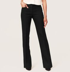 Petite Structured Linen Trouser Leg Pants in Julie Fit | Loft- petite size 2