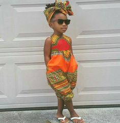 Dashiki Romper ~ African fashion, Ankara, kitenge, Kente, African prints… More Más African Print Dresses, African Print Fashion, African Fashion Dresses, Fashion Prints, African Prints, Africa Fashion, African Dresses For Kids, Ankara Fashion, Baby African Clothes