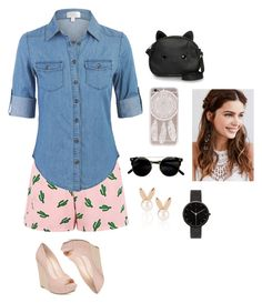 """""""#casualchic"""" by esthercookie8 on Polyvore featuring American Retro, Jessica Simpson, Loungefly, REGALROSE, Aamaya by priyanka, I Love Ugly, gypsy and wildones"""
