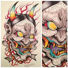 Hannya by David Tevenal