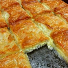 Food Network Recipes, Cooking Recipes, Greek Sweets, Kitchen Stories, Pudding, Spanakopita, Greek Recipes, Feta, Food And Drink