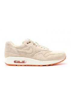 wholesale dealer 05513 1b085 Air Max 1 Prm Beams Grain, Orange Blaze 512033-280 Mens Shoes Sale,