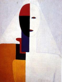 delveinsidetheskyline:  Kazimir Malevich - Woman Torso
