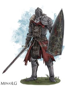 Dark Souls 3: Ashen One by MenasLG on DeviantArt