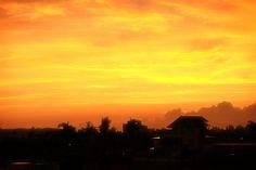 Autumn sunrise in Hualien , Taiwan by WenMin Tseng on 500px