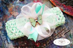 Baby headband - New born baby gift - Baby Girl headband - Girls headband -  Headband by IvonaKrastanova on Etsy