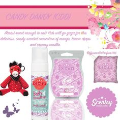 candy dandy scentsy kids scent