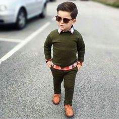 Boys Shirt And Trousers Toddler Boy Fashion, Little Boy Fashion, Toddler Boy Outfits, Fashion Kids, Toddler Boys, Fashion Fashion, Fashion Beauty, Outfits Niños, Cute Teen Outfits