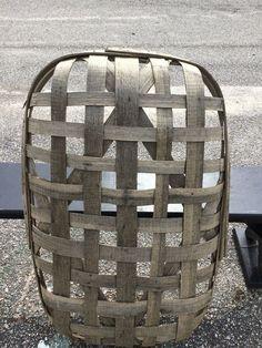 Rare Antique Vintage Small Rectangle Split Wood 1/2 Tobacco Basket Oak Primitive #Primitive Tobacco Facts, Tobacco Basket, Style Pantry, Life Insurance Companies, Vintage Baskets, Shaker Style, Rare Antique, The Incredibles, Primitive Decor