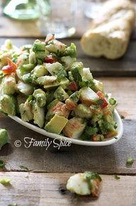 Avocado Crab Salad.