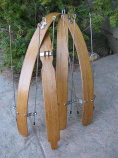 Wood Bicycle Fenders Bamboo by woodysfenders on Etsy