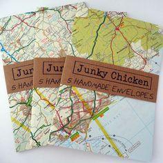 Map Envelopes £2.50