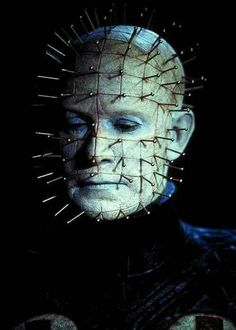 "†  Clive-Barker's  † From The 1987""s Horror Movie  † HELLRAISER † Doug Bradley  † As Pinhead  †"
