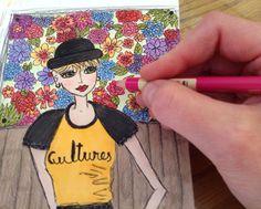 Flower Girl - artwork by Krista Tannahill