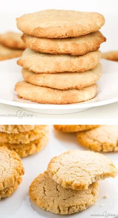 keto cookie recipes Low Carb Keto Cream Cheese Cookies Recipe - Quick & Easy - These low carb keto cream cheese cookies are so fast & easy to make! Just 6 ingredients, 10 minutes prep, and 15 minutes in the oven. Keto Friendly Desserts, Low Carb Desserts, Easy Desserts, Low Carb Recipes, Bread Recipes, Yummy Recipes, Keto Postres, Galletas Keto, Cream Cheese Cookie Recipe
