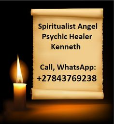 Spiritualist Celebrity Psychic Guide Healer Kenneth International Love Spell Caster, Call / WhatsApp Most Famous Medium Healer In The World, Spiritual Healer, Spiritual Guidance, Spirituality, Free Love Spells, Powerful Love Spells, Bring Back Lost Lover, Love And Marriage, Marriage Advice, Failing Marriage