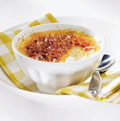 Citroen crème brûlée met kardemom - Combi stoomoven !
