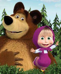 masha e o urso desenho 51 episódios em português (5 dvds)