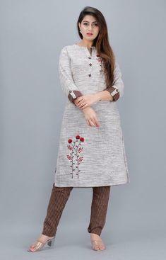 Printed Kurti, Printed Cotton, Kurta Skirt, Indian Ethnic, Indian Style, Simple Kurta Designs, Combo Dress, Pakistani Salwar Kameez, Designs For Dresses