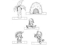Educando com Arte 10: Maquete - Dia do Índio. * 1500 free paper dolls at international artist Arielle Gabriels The International Paper Doll Society also free Chinese paper dolls The China Adventures of Arielle Gabriel *